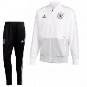 ADIDAS DUITSLAND PRESENTATIE TRAININGSPAK 2018-2020 WHITE GREY BLACK