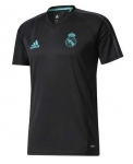 ADIDAS REAL MADRID TRAININGSSHIRT 2017-2018 BLACK