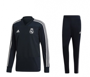 Adidas Real Madrid Sweat Suit 18- 19