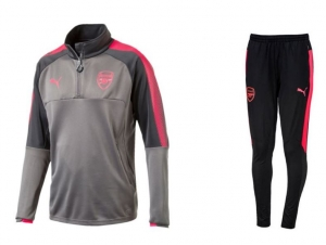 Arsenal grijs sweat suit
