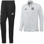 Duitsland Trainingspak 17 18 White Black
