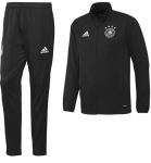 Duitsland Trainingspak Black White