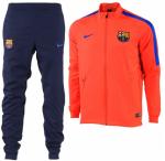 FC Barcelona Trainingspak Dry 16 17 Bright Crimson