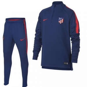 NIKE ATLETICO MADRID DRY SQUAD DRILL TRAININGSPAK 2018-2019  DEEP ROYAL