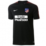 NIKE ATLETICO MADRID SQUAD TRAININGSSHIRT 2017-2018 BLACK SPORT