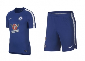 NIKE CHELSEA BREATHE SQUAD TRAININGSTENUE 2018-2019 RUSH BLUE RED