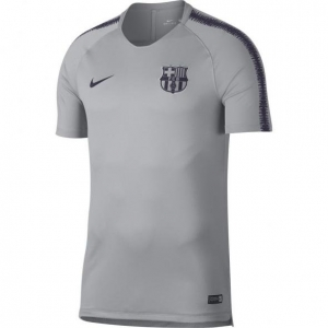 NIKE FC BARCELONA TRAININGSSHIRT 2018-2019 GREY WOLF