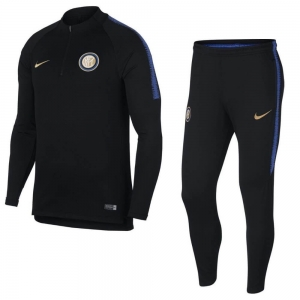 NIKE INTER MILAN DRY SQUAD DRILL TRAININGSPAK 2018-2019 BLACK