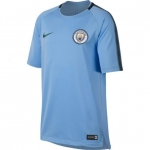 NIKE MANCHESTER CITY SQUAD TRAININGSSHIRT 2017-2018 FIELD BLUE € 45