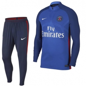 NIKE PARIS SAINT GERMAIN AEROSWIFT STRIKE DRILL TRAININGSPAK 2017-2018 HYPER COBALT MIDNIGHT NAVY