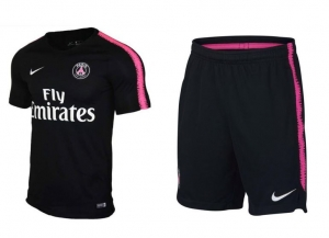 NIKE PARIS SAINT GERMAIN BREATHE SQUAD TRAININGSSHIRT 2018-2019  + NIKE PARIS SAINT GERMAIN DRY SQUAD TRAININGSBROEKJE 2018-2019
