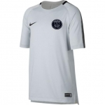 NIKE PARIS SAINT GERMAIN SQUAD TRAININGSSHIRT 2017-2018 PURE € 45