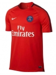 NIKE PARIS SAINT GERMAIN SQUAD TRAININGSSHIRT 2017-2018 RUSH RED