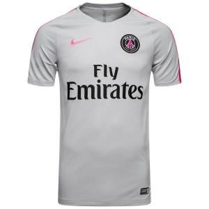 NIKE PARIS SAINT GERMAIN SQUAD TRAININGSSHIRT 2018-2019 WOLF GREY HYPER PINK