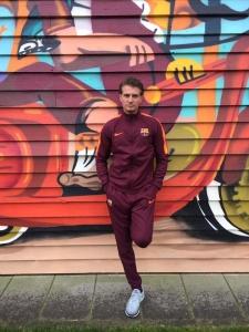 Nike FC Barcelona DRY Squad Trainingspak 2017 - 2018