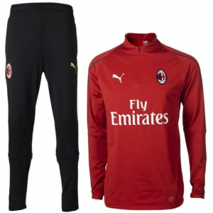 PUMA AC MILAN  TRAININGSPAK 2018-2019 RED BLACK