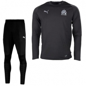 PUMA OLYMPIQUE MARSEILLE TRAININGSPAK 2018-2019 PUMA BLACK