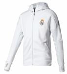 Real Madrid Anthem Z.N.E. Hoodie Crystal White Grey