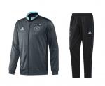 adidas Ajax Trainingspak 2016-2017 Clear Aqua Bold Onix Black