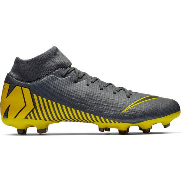 new arrival 8f67c c472f NIKE MERCURIAL SUPERFLY 6 ACADEMY FGMG VOETBALSCHOENEN DONKERGRIJS € 90