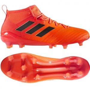 ADIDAS ACE 17.1 PRIMEKNIT FG SOLAR ORANGE CORE BLACK € 250