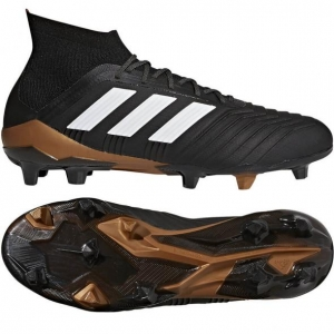 ADIDAS PREDATOR 18.1 FG CORE BLACK FUTURE WHITE SOLAR RED € 219,99