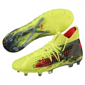 PUMA FUTURE 18.1 NETFIT FG AG FIZZY YELLOW RED € 200