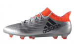 adidas X 16.1 FG Silver Metallic Core Black Solar Red