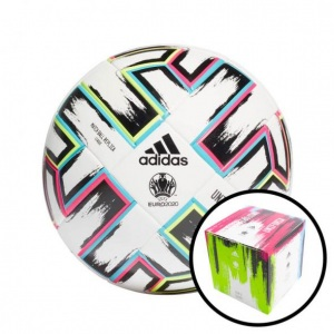 ADIDAS-UNIFORIA-LEAGUE-BOX-VOETBAL-WIT-ZWART-MAAT-5-€-35