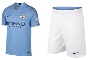 Manchester City Thuis Tenue 18 19