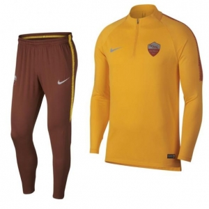 NIKE AS ROMA DRY SQUAD DRILL TRAININGSPAK 2018-2019 ORANJE BRUIN