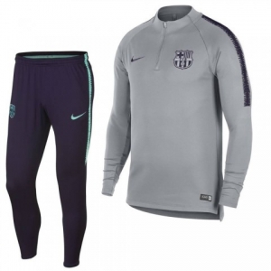 NIKE FC BARCELONA DRY SQUAD DRILL TRAININGSPAK 2018-2019 WOLF GREY