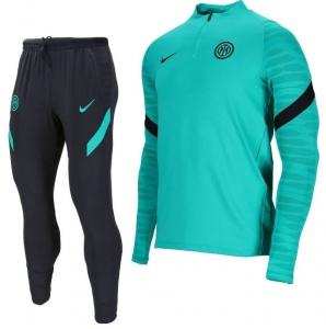 Nike-Inter-Milan-Strike-Drill-Trainingspak-2021-2022-Turquoise-Zwart