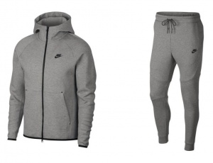 NIKE-TECH-FLEECE-GRIJS