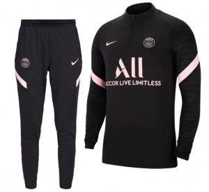 Nike-Paris-Saint-Germain-Strike-Drill-Trainingspak-2021-2022-Zwart-Roze