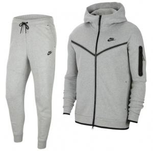 Nike-Tech-Fleece-Trainingspak-Full-Zip-Grijs