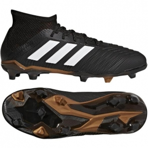 ADIDAS PREDATOR 18.1 FG KIDS CORE BLACK FUTURE WHITE SOLAR RED