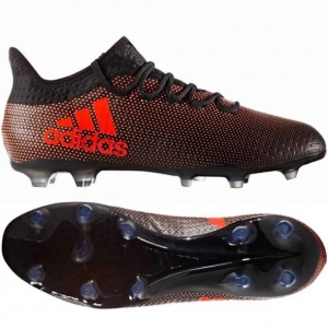 ADIDAS X 17.2 FG CORE BLACK SOLAR RED € 130