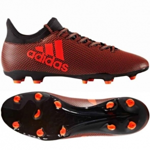 ADIDAS X 17.3 FG CORE BLACK SOLAR RED € 80
