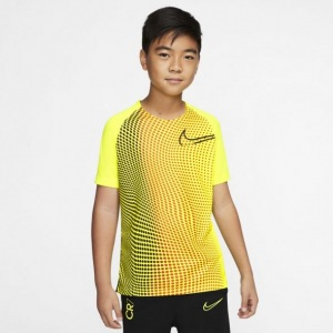 NIKE-CR7-DRY-TRAININGSSHIRT-KIDS-GEEL-ZWART-€-25