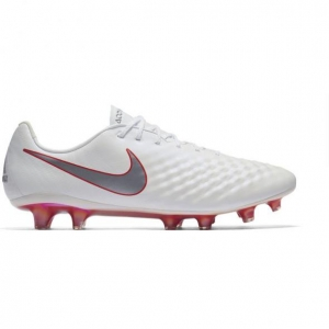 NIKE MAGISTA OBRA II ELITE FG WHITE METALLIC COOL GREY
