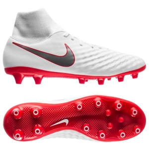 Nike Magista Obra 2 Academy DF AG-PRO Just Do It - Wit Rood