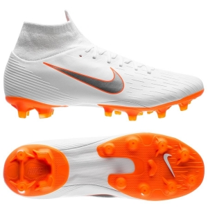 Nike Mercurial Superfly 6 Pro AG-PRO Just Do It - Wit Oranje