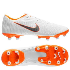 Nike Mercurial Vapor 12 Academy MG Just Do It - Wit Oranje