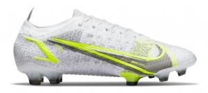 Nike-Mercurial-Vapor-14-Elite-Gras-Voetbalschoenen-FG-Wit-Zwart-Zilver-Geel-E-24999
