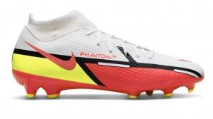 Nike-Phantom-GT-2-Academy-DF-Gras-Kunstgras-Voetbalschoenen-MG-Wit-Rood-Geel
