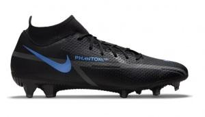 Nike-Phantom-GT-2-Academy-DF-Gras-Kunstgras-Voetbalschoenen-MG-Zwart-Donkergrijs