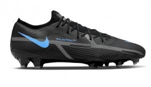Nike-Phantom-GT-2-Pro-Gras-Voetbalschoenen-FG-Zwart-Donkergrijs