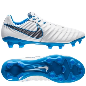 Nike Tiempo Legend 7 Pro FG Just Do It - Wit Blauw