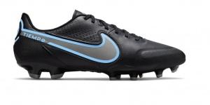 Nike-Tiempo-Legend-9-Academy-Gras-Kunstgras-Voetbalschoenen-MG-Zwart-Blauw